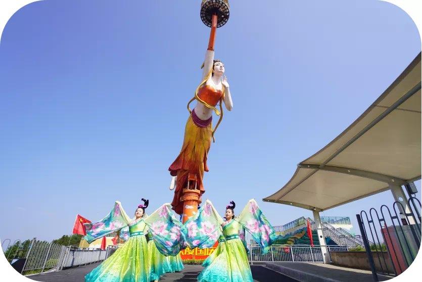 国庆天天乐丨白马山天尺情缘景区迎来旅游高峰